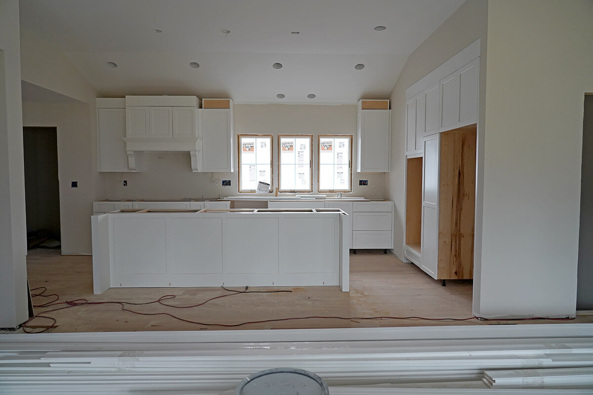 Connecticut Ranch House Remodel: We Have Walls, Cabinets and