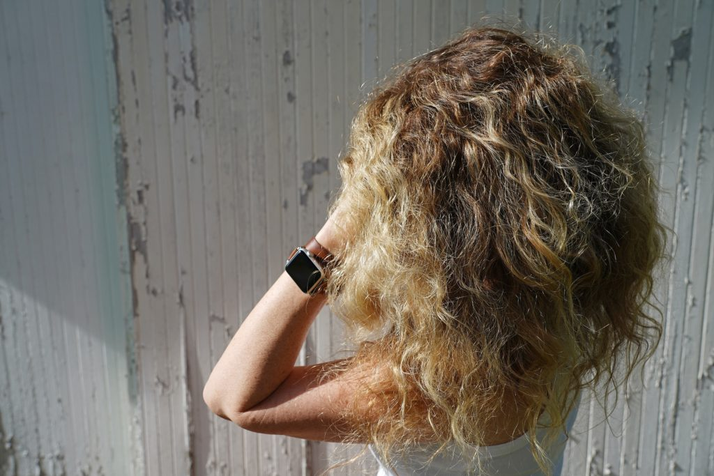 easy curly hair routine